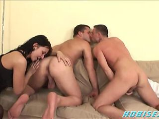 Hot Amanda Bisexual Threesome
