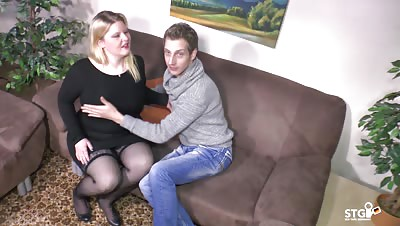 SextapeGermany – Amateur BBW German drilled in a hot sextape