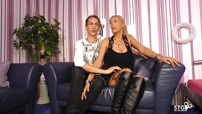 SexTapeGermany – German couple in sex tape with amateur MILF