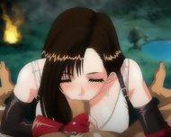 Tifa Lockheart – Anime Blowjob
