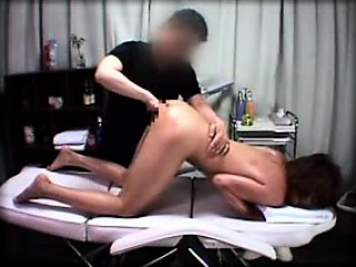 Sexy Asian girl sighs with pleasure while getting her peach