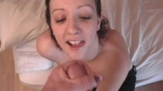 Handjob and cum on tits