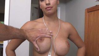 Maid Mercedes Carrera Cleans Dick