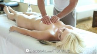 Passion-HD – Hot and sexy massage for blonde Darcie Belle