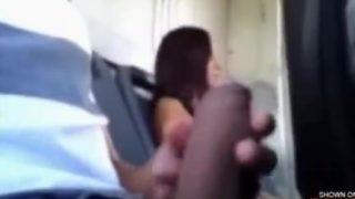 Stranger Girl Handjob On Bus